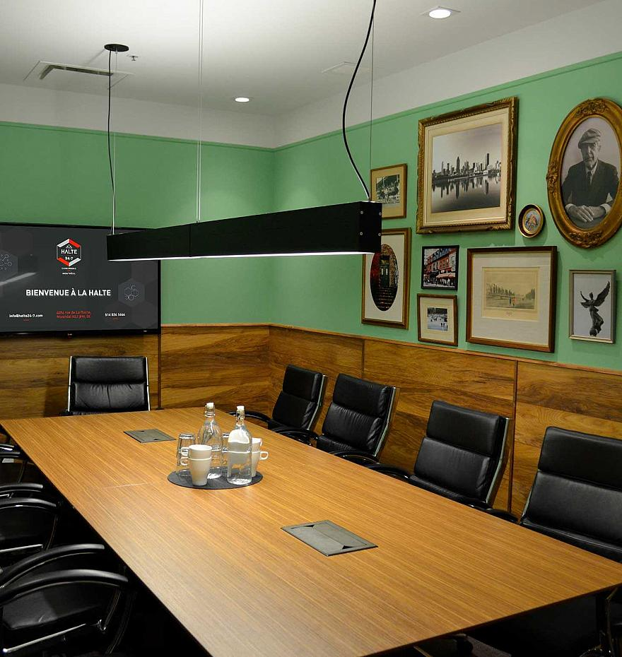 Private conference room